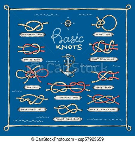 450x470 Knot Vector Marine Knotty Bow Or Nautical Bowed Rope With Knotted