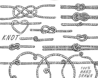 340x270 Rope Clipart Heart Knot