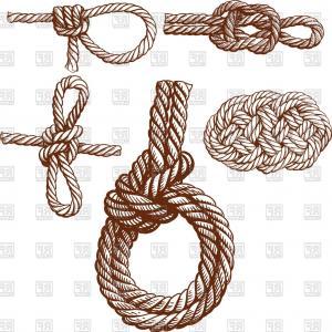 300x300 Set Of Several Nautical Knots Vector Clipart Lazttweet