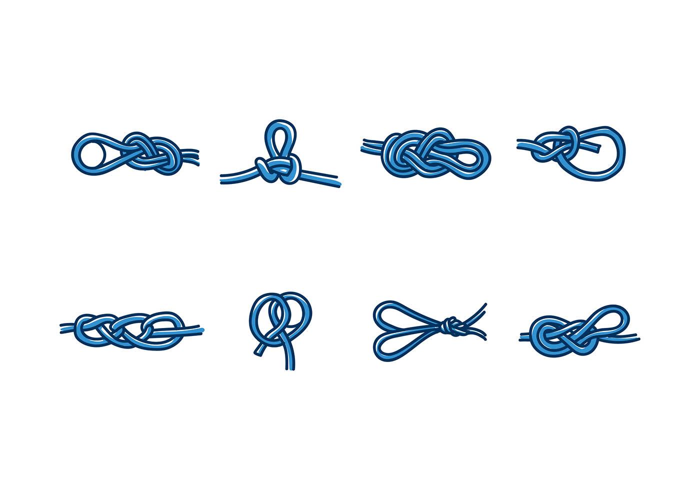1400x980 Knot Free Vector Art