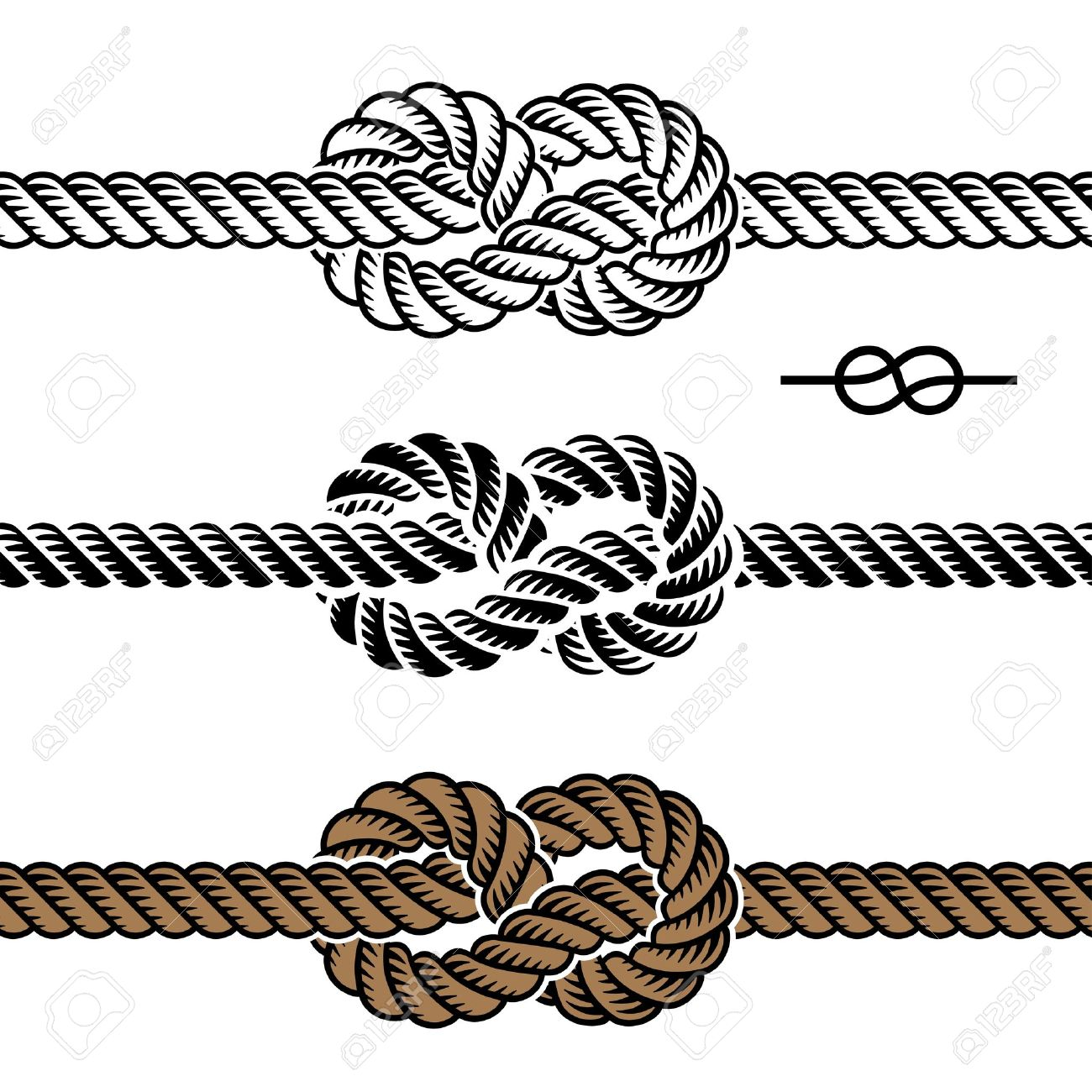 Nautical Rope Vector