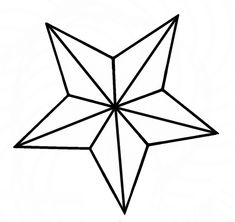 Nautical Star Vector