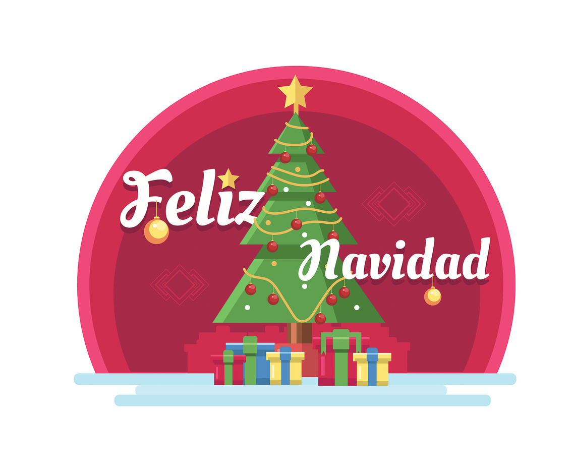 1136x936 Feliz Navidad Illustration Vector Vector Art Amp Graphics