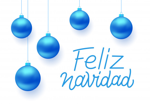 626x437 Feliz Navidad Vector Greeting Card Design Vector Premium Download