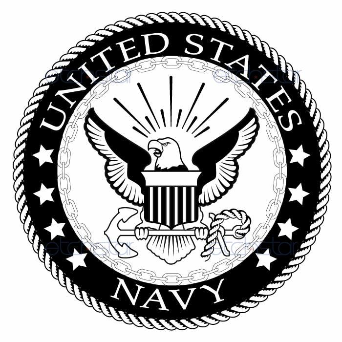Navy Logo Vector