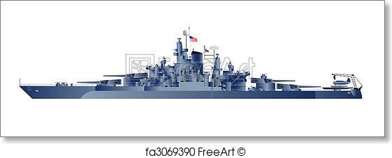 561x227 Free Art Print Of Battleship Uss Tennessee. Military Navy Ships
