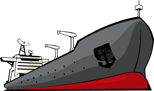 500x297 Free Vector Cargo Ships Free Vector Download (667 Free Vector) For