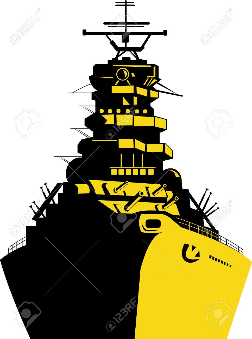 968x1300 Battleship Clipart Navy Boat 3057963