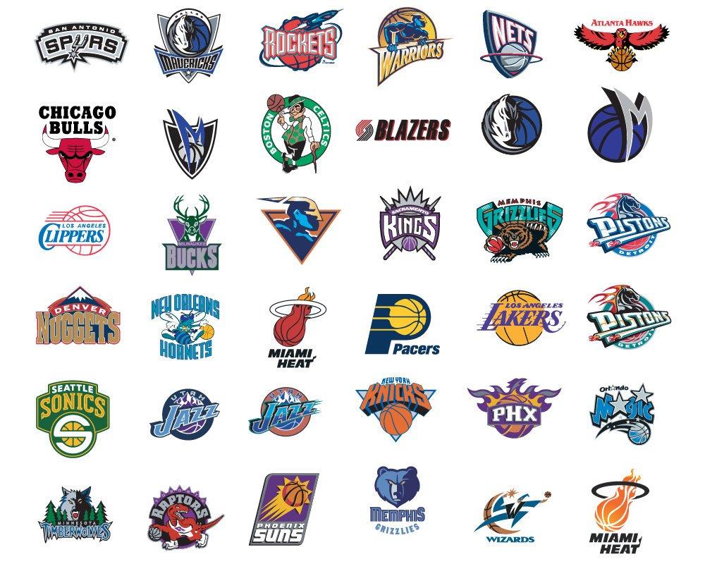 1000x800 Nba Logo Team All Nba Team Logos Vector American Nba Team