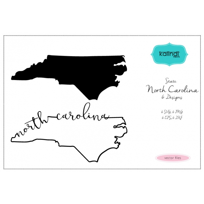 800x800 North Carolina Silhouette North Carolina State Svg Nc Vector File