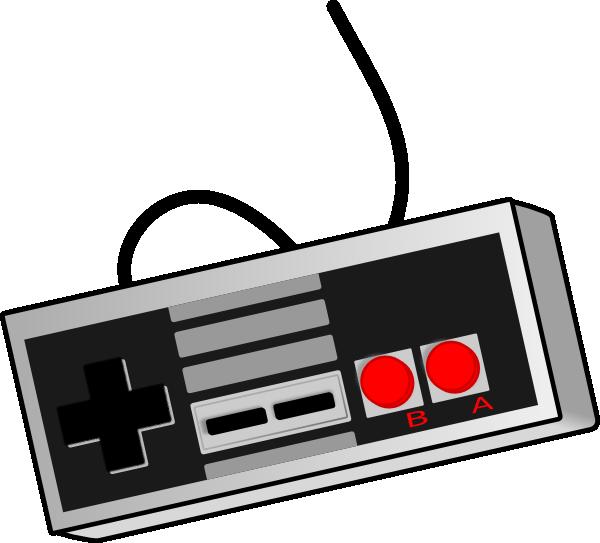 600x543 Bhspitmonkey Old School Game Controller Clip Art