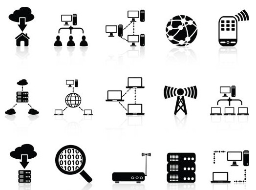 524x389 Network Icons 2 Ai Format Free Vector Download