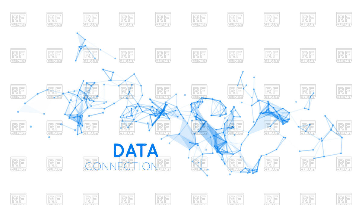 1200x680 Abstract Network Connection Vector Image Vector Artwork Of