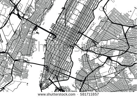 450x322 New York City New York Map New York City Vector Map Image