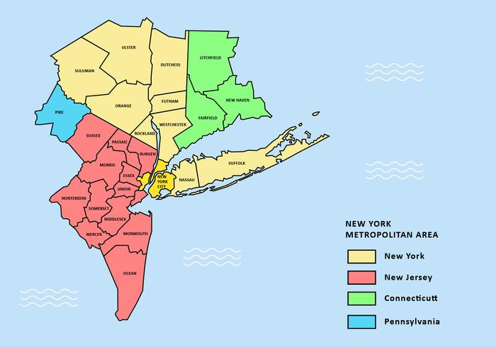 700x490 New York Map Download Greater New York City Map Vector Download