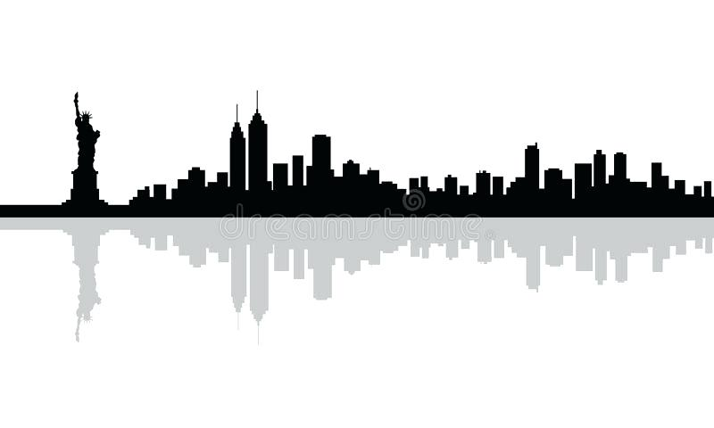 New York Skyline Vector Free At Getdrawings Com Free For Personal