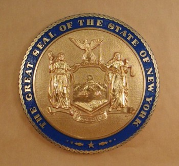 350x325 New York State Wall Seal