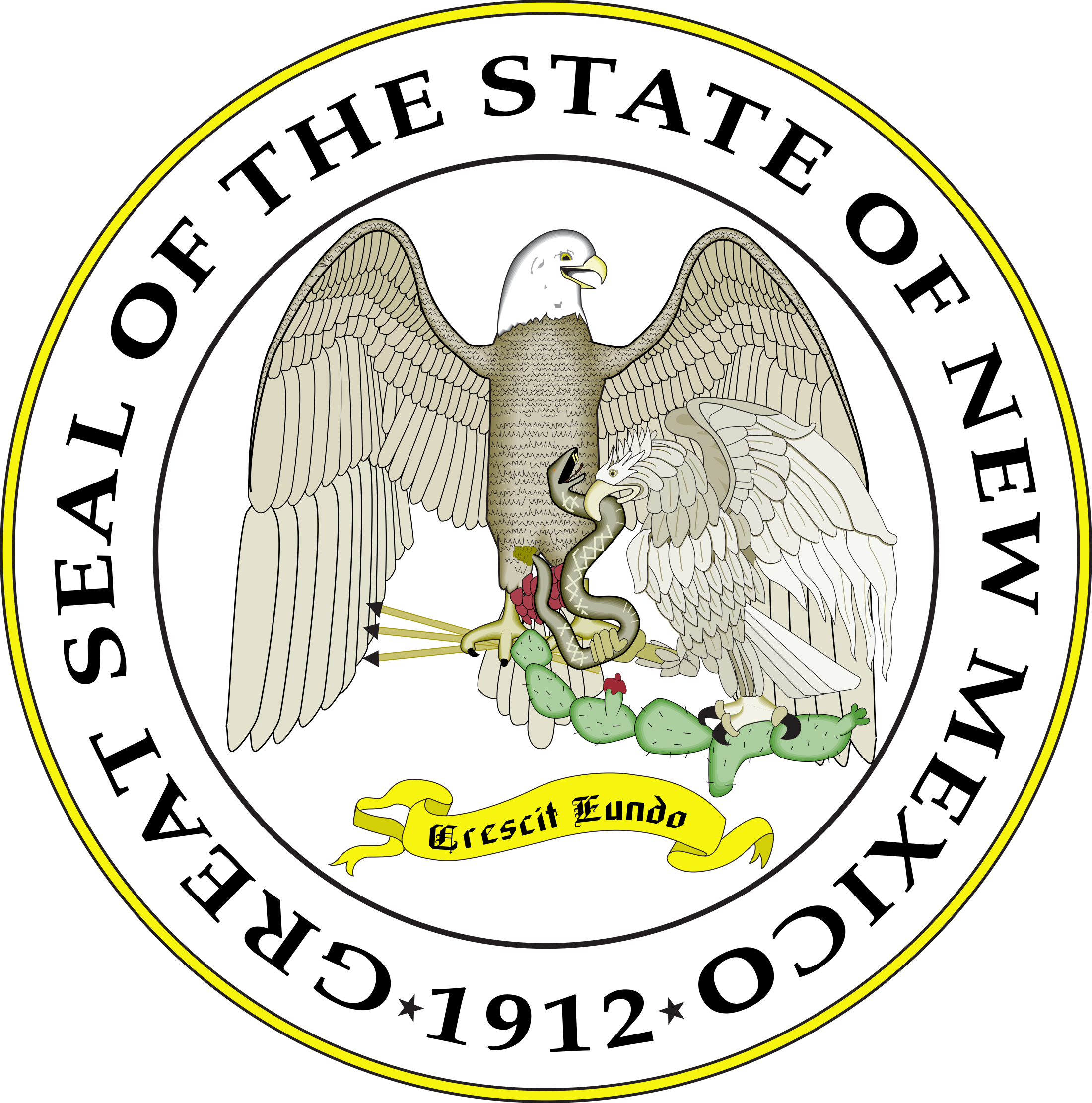 2200x2222 New Mexico State Seal Png Amp Svg Vector