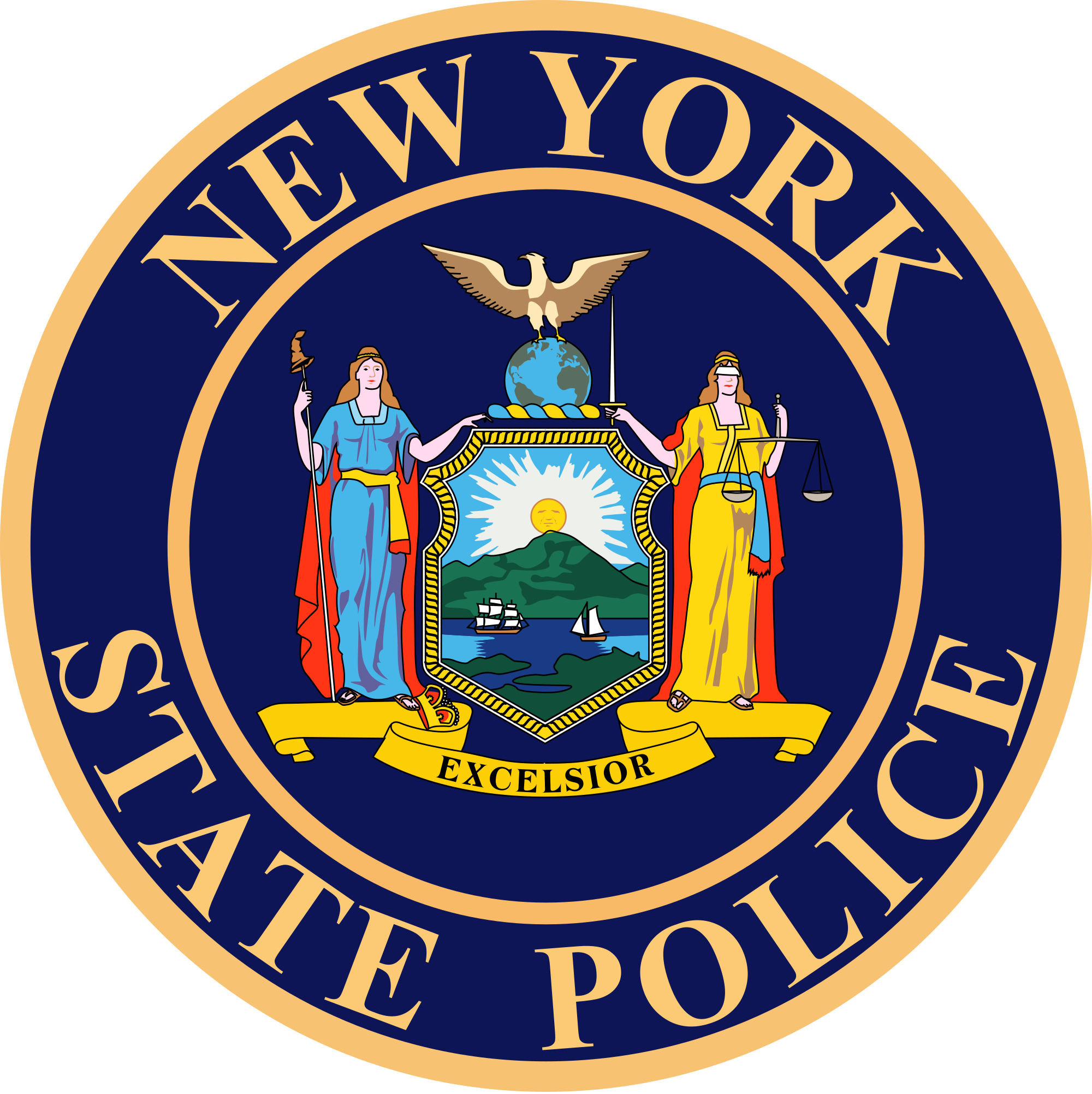 2000x2004 Fileseal Of The New York State Police.svg