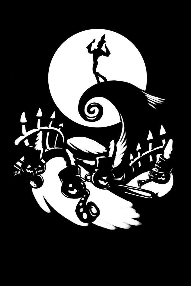 Nightmare Before Christmas Vector at GetDrawings.com | Free for ...