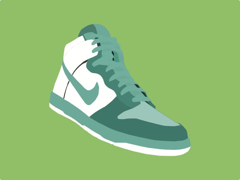 800x600 Shoe Vector App Design, 2d And App Icon
