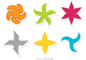 285x200 Ninja Star Free Vector Graphic Art Free Download (Found 6,680