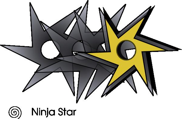 600x394 Ninjastar Clip Art Free Vector 4vector