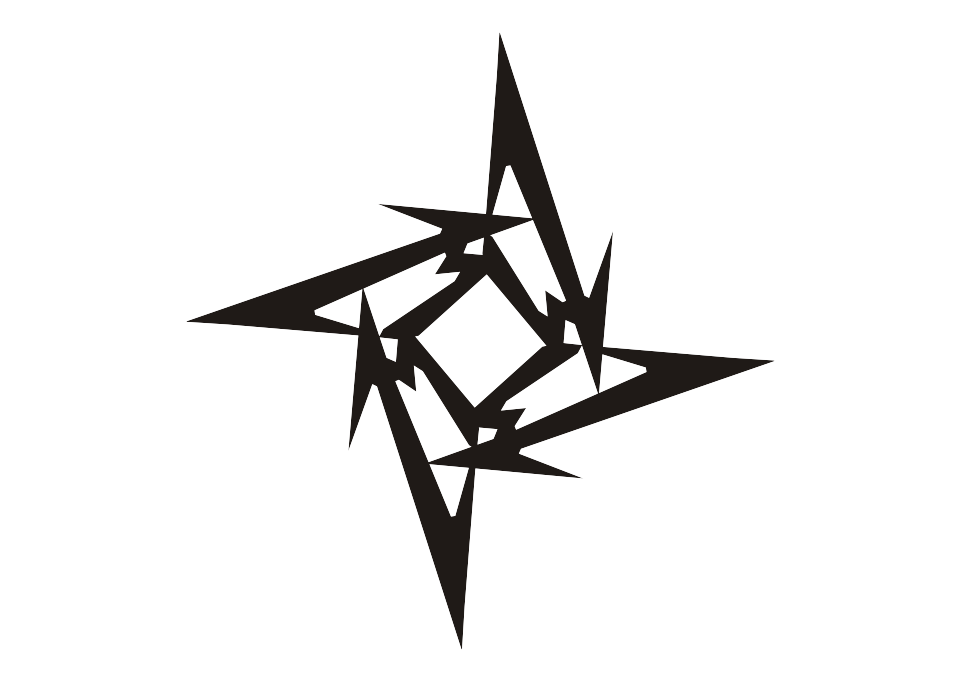 961x682 Logo Metallica Ninja Star Vector Free Logo Vector Download