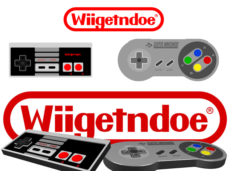 800x600 Nes X Snes Controllers (Vector And 3d Render) By Daniel Amalbert