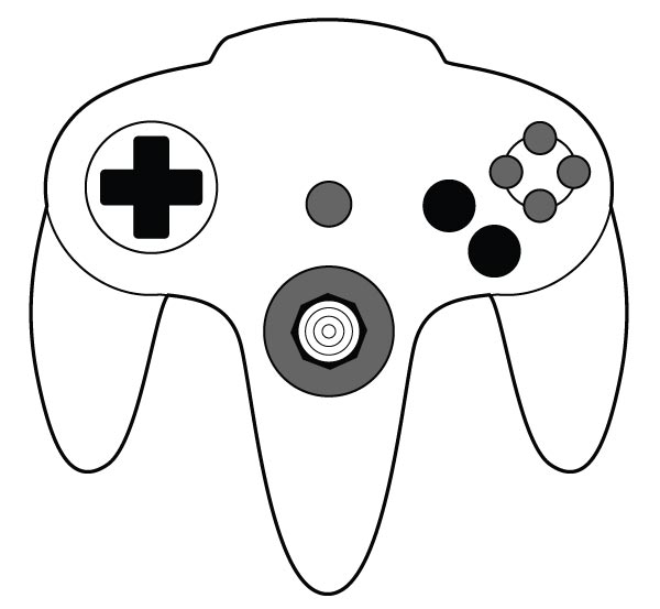 Nintendo Controller Vector at GetDrawings com | Free for personal