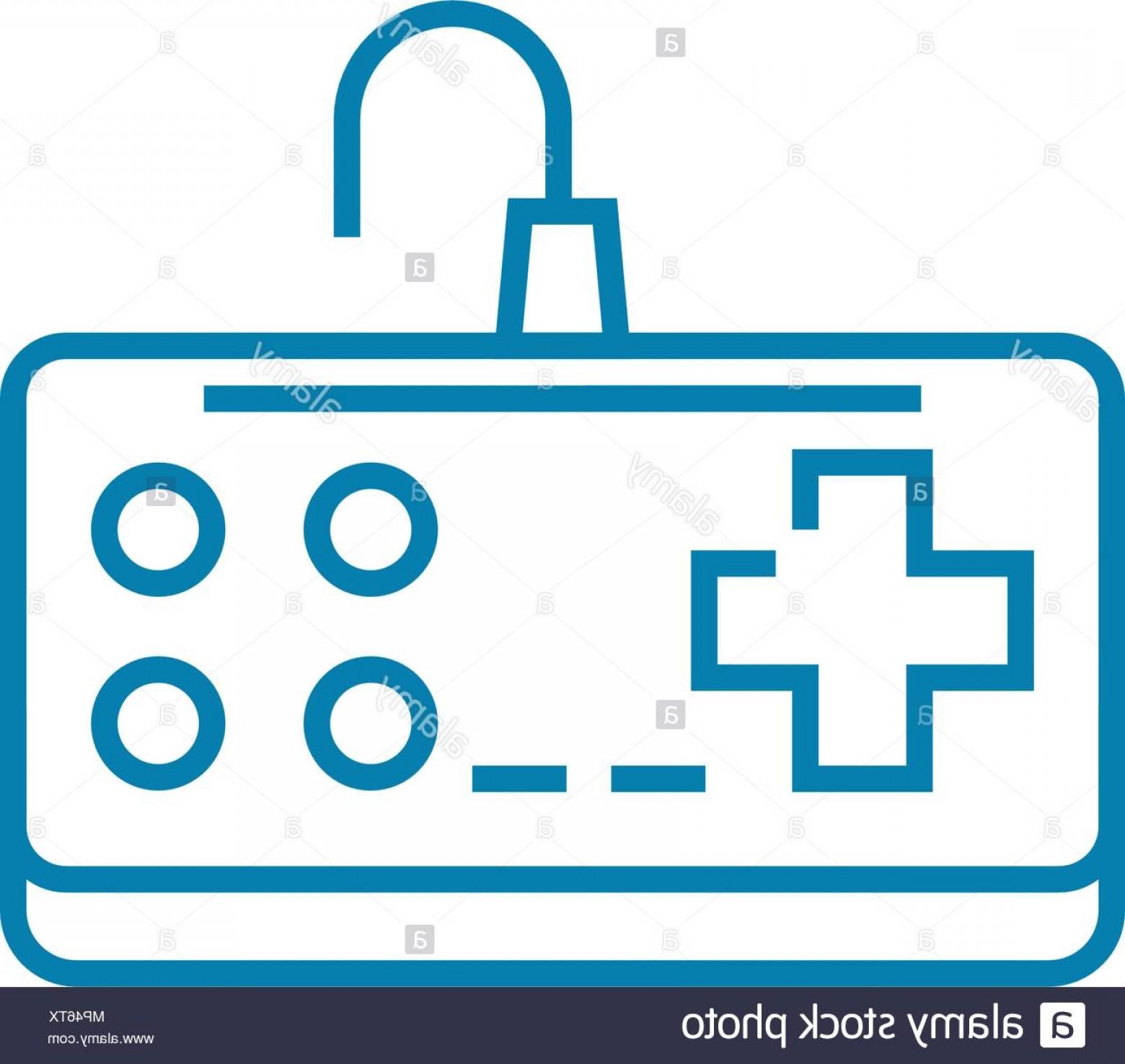 1560x1476 Nintendo Gamepad Linear Icon Concept Nintendo Gamepad Line Vector