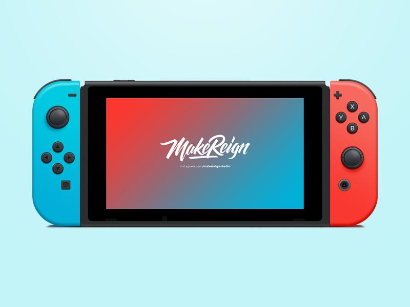 800x600 Nintendo Switch Vector Freebie