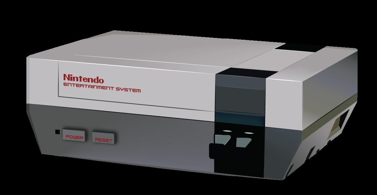 1243x643 Nintendo Vector By Ianskelskey
