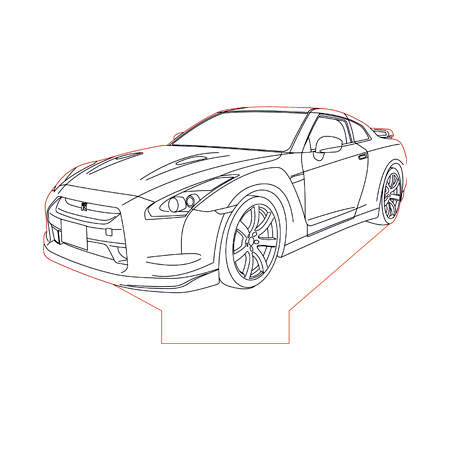 Nissan Gtr Vector At Getdrawings Com Free For Personal Use Nissan