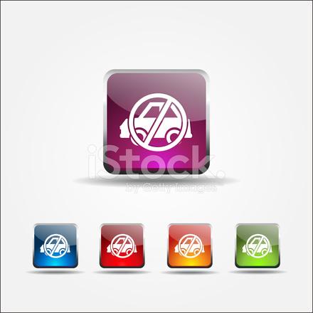 440x440 No Parking Vector Icon Design Stock Vector