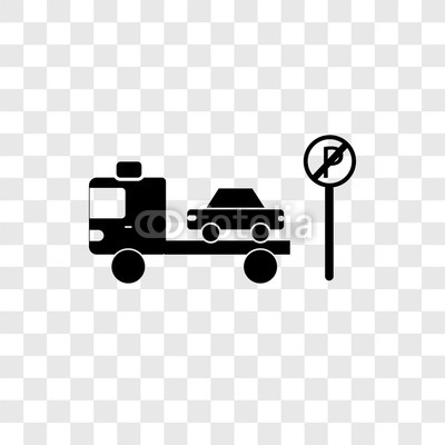 400x400 No Parking Vector Icon Isolated On Transparent Background, No
