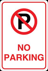 201x300 No Parking Logo Vector (.eps) Free Download
