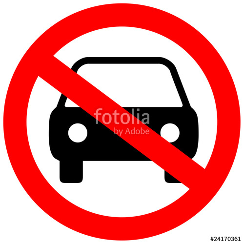 500x500 No Parking Sign Stock Image And Royalty Free Vector Files On