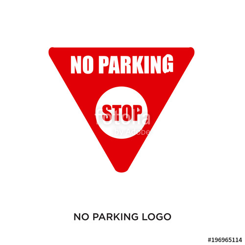 500x500 No Parking Logo Stock Image And Royalty Free Vector Files On