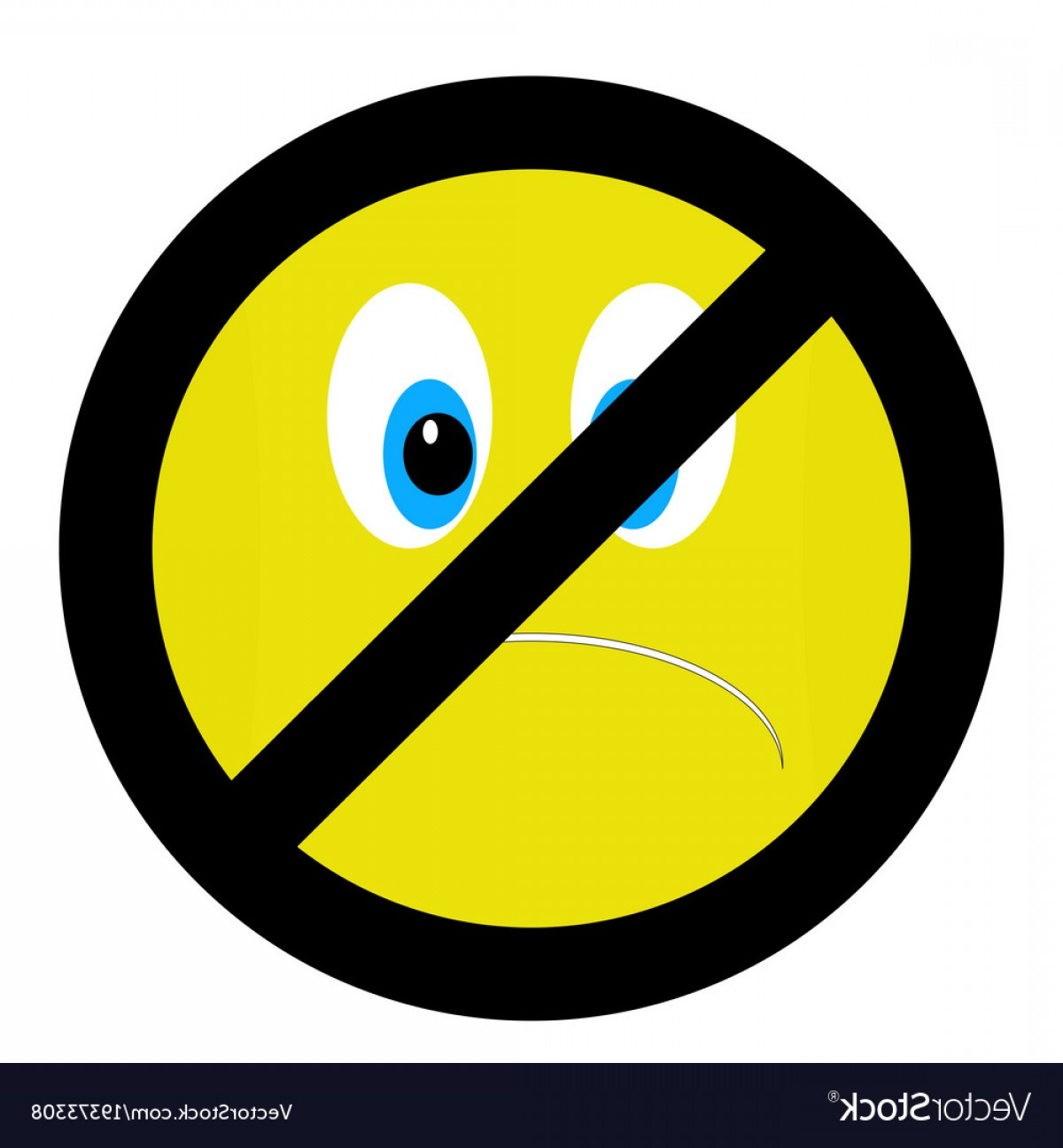 1200x1296 No Bad Mood Sign Vector Sohadacouri