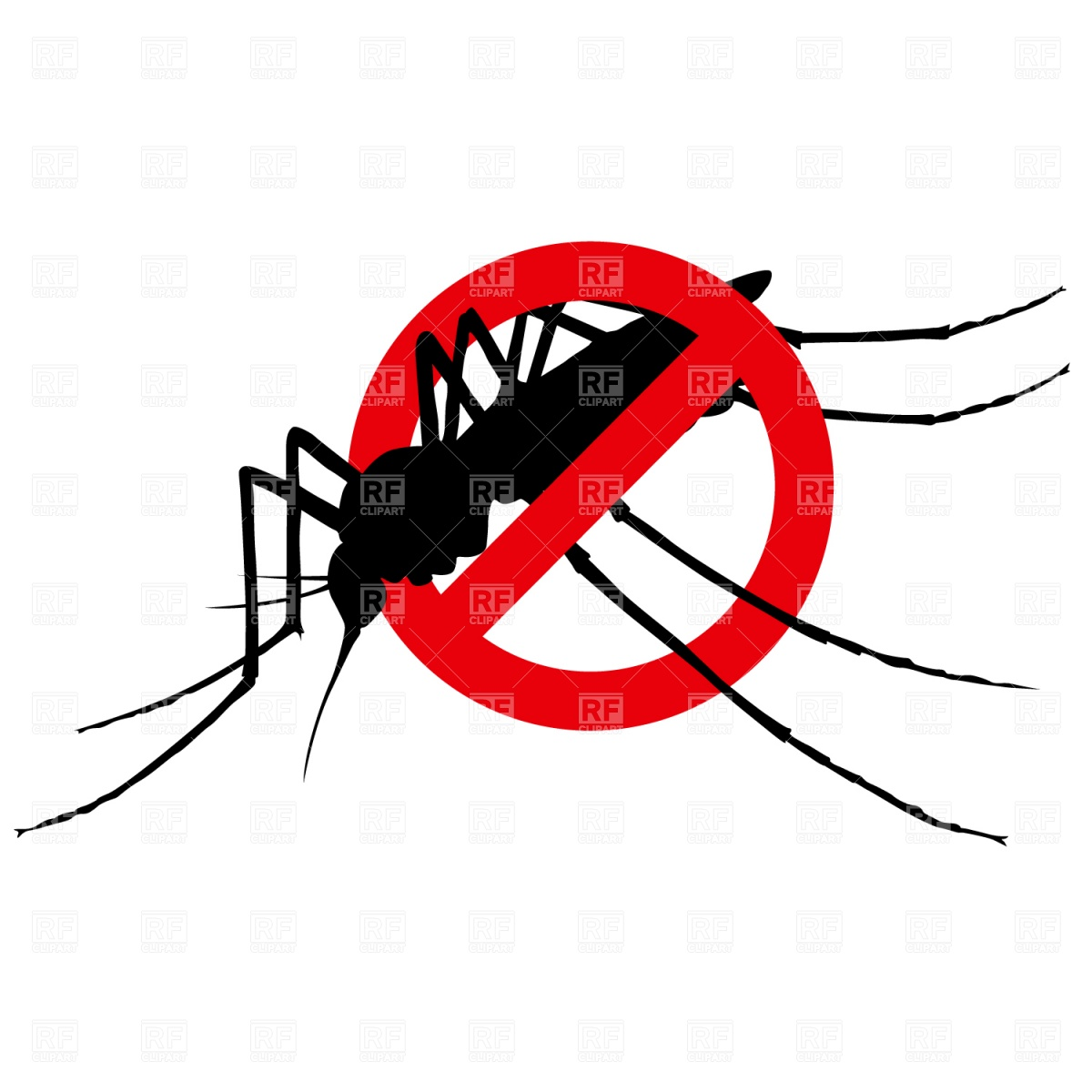 1200x1200 No Mosquito Sign Vector Image Vector Artwork Of Plants And