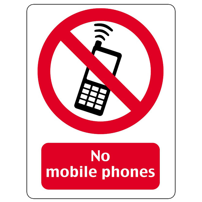 660x660 No Mobile Phones Vector Sign