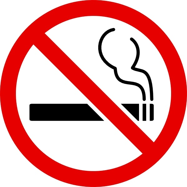 600x600 No Smoking Sign Clip Art Free Vector In Open Office Drawing Svg