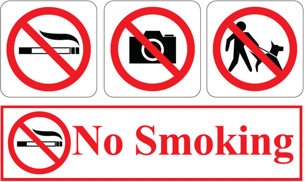 600x358 No Smoking Free Vector In Encapsulated Postscript Eps ( .eps