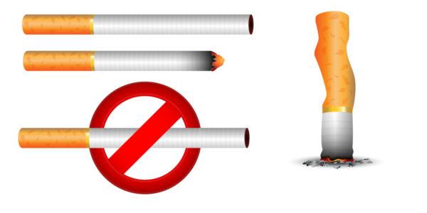 600x300 No Smoking Vector