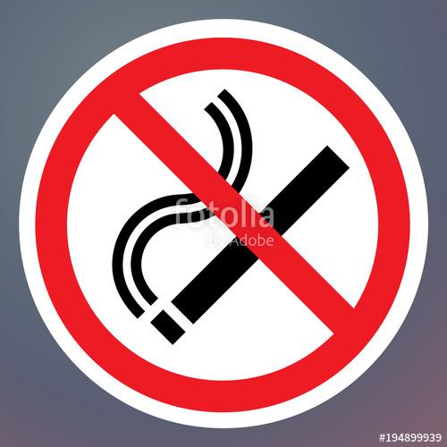 500x500 No Smoking Vector Sign, Stop Smoking Sticker Stock Image And