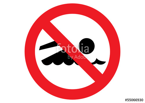 500x354 No Swimming Sign Stock Image And Royalty Free Vector Files On