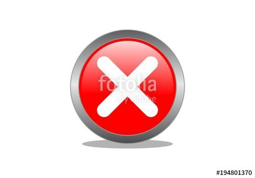 500x350 Wrong, Banned, No Symbol Logo Stock Image And Royalty Free Vector