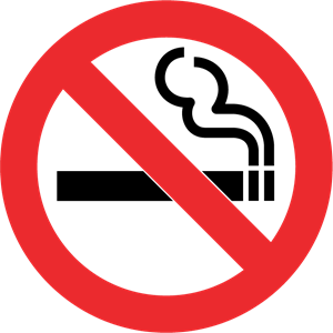 300x300 No Smoking Logo Vector (.eps) Free Download