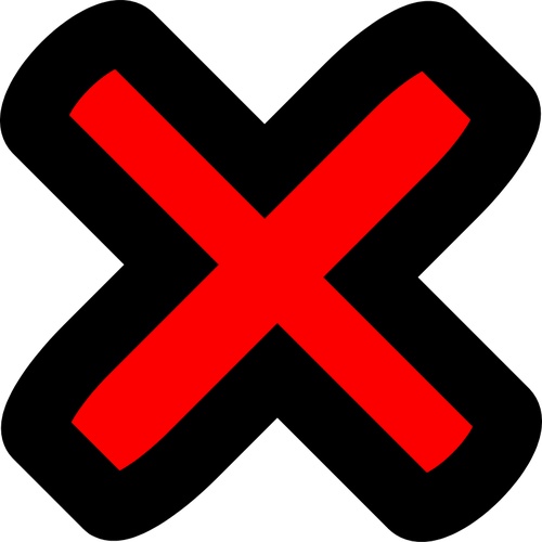 500x500 Red Cross No Vector Icon Public Domain Vectors
